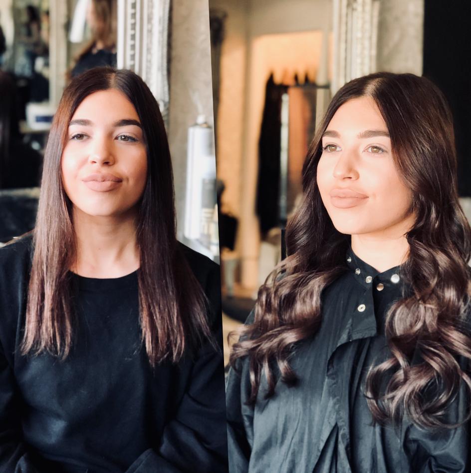 Hair salon in kendal showcasing beautiful hair tape extensions